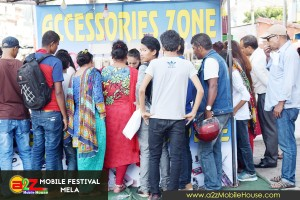 A2Z Mobile House Presents Mobile Festival Mela 2073 Special Offers Photos Day 5